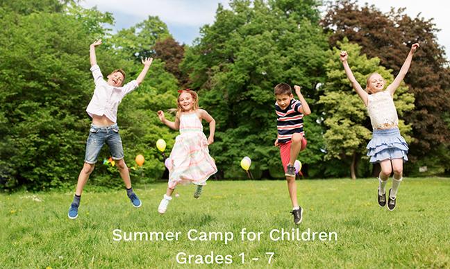 Summer Camps for Children Grades 1-7 Now Running!